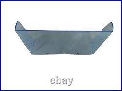 SPECIAL boat windshield 24, 1/4 blue tinted, center console