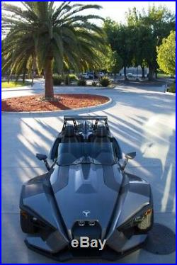 Slingshot PLUS 5 Tint Windshield Replacement by F4 Customs