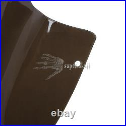 Smoke Tint 12.5'' Flare Wave Windshield For 98-2013 Harley Road Glide FLTR FLTRX