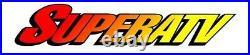 Super ATV Polaris General Tinted Rear Windshield