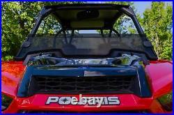 SuperATV Dark Tint Half Windshield For Polaris RZR XP Turbo S (2018+)