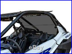 SuperATV Dark Tint Polycarbonate Rear Windshield for Polaris RZR PRO XP (2020+)