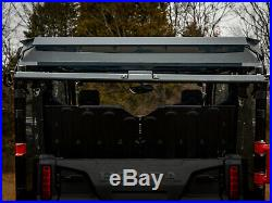 SuperATV Dark Tint Rear Windshield for Honda Pioneer 1000-5 (2016+)