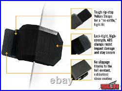 SuperATV Dark Tint Rear Windshield for Honda Talon 1000R (2019+)