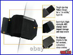 SuperATV Dark Tint Rear Windshield for Honda Talon 1000X-4 (2020+)