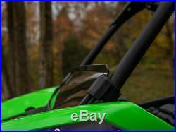SuperATV Half Windshield for Kawasaki Teryx KRX 1000 (2020+) Dark Tint