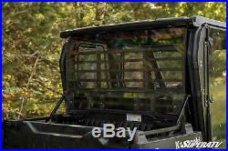 SuperATV Light Tint Rear Windshield for Kawasaki Mule Pro FXT / DXT (2015+)