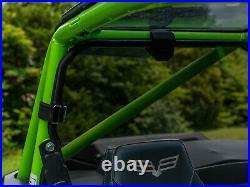 SuperATV Light Tint Rear Windshield for Textron Wildcat XX / Tracker XTR1000
