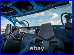 SuperATV Light Tinted Heavy Duty Rear Windshield for Maverick X3 (2017+)