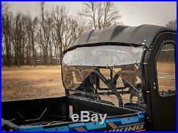 SuperATV Lightly Tinted Heavy Duty Rear Windshield for Yamaha Viking (2013+)
