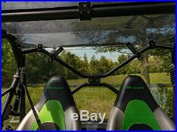 SuperATV Lightly Tinted Rear Windshield for Kawasaki Teryx 4 800 (2014+)