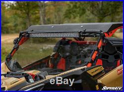 SuperATV Scratch Resistant Full Windshield for Can-Am Maverick X3 Light Tint