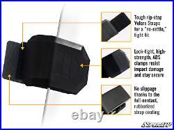 SuperATV Standard Dark Tinted Half Windshield for Polaris General 1000 / 4