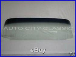 Tint Shade Windshield Glass and Gasket with Chrome 1955 1959 Chevy GMC Pickup