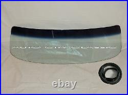 Tint Shaded Windshield Glass and Seal 1953 1955 Ford Pickup and Panel Delivery