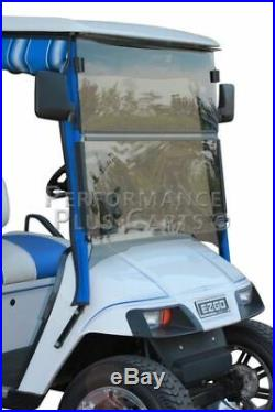 Tinted Fold Down Golf Cart Windshield for EZGO TXT 1995- 2013