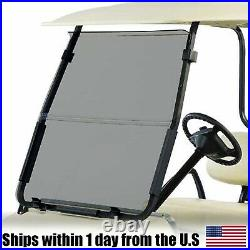 Tinted Fold Down Windshield Made with Acrylic For Club Car DS 2000.5-Up Golf Cart