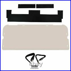 Tinted Rear Windshield Window Polycarbonate For Polaris RZR XP 1000 TURBO