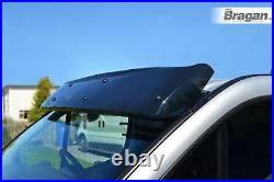 To Fit 07 14 Fiat Ducato Acrylic Smoke Tinted Sun Visor Sun Visor Wind Shield