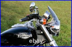 Triumph America/SM Dart Classic Flyscreen in Light Tint