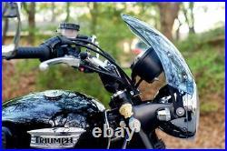 Triumph Bonneville/T100 Dart Marlin Flyscreen in Light Tint