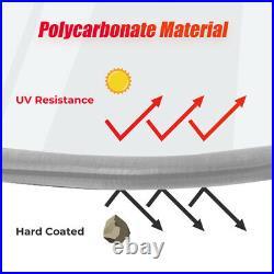 UTV Heavy Duty Rear Windshield Light Tint for Can-Am Defender HD 5 /8 /10 2016+
