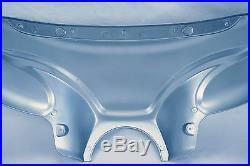 Universal Mutazu Silver Cruiser Front Fairing batwing withTinted Windshield