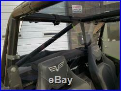 Wildcat XX Tinted Rear Window / Windshield Arctic Cat Textron Tracker XTR1000