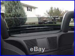 Wind Deflector windscreen for Mazda Miata Mx5 smoke tint windblocker