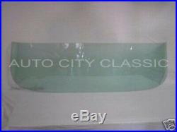 Windshield Glass 1957 1958 Ford Custom Sedan Wagon and Ranchero Green Tint