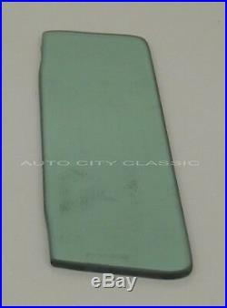 Windshield Vent Door Glass Set in Original Green Tint 57 Ford Thunderbird T-Bird