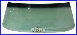 Windshield with Antenna Green Tint 70-72 GM A-Body Convertible
