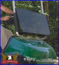 YAMAHA G2/G9 Golf Cart ALL AMERICAN Folding Flip Windshield-Tinted/Clear