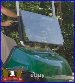 YAMAHA G29 Golf Cart ALL AMERICAN Folding Flip Windshield-Tinted/Clear