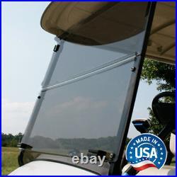 Yamaha Drive2 Tinted Impact Resistant Folding Golf Cart Windshield US Made