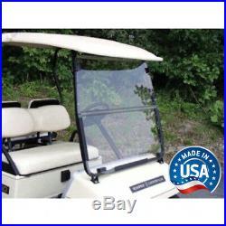 Yamaha G2, G9 Tinted Fold Down Golf Cart Windshield US Made