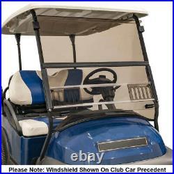 Yamaha G29 Drive (07-16) Tinted Vented Fold Down Golf Cart Windshield US Made