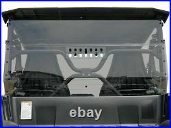 Yamaha Wolverine X-2 Rear Windshield Window Dust Panel WITH Vent & Tinted