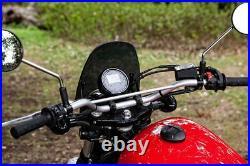 Yamaha XV950 Bolt / SCR950 Dart Classic Flyscreen in Dark Tint