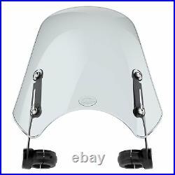 Yamaha XV950 Bolt / SCR950 Dart Marlin Flyscreen in Light Tint